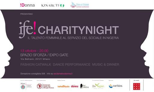 """""""Ife! Charity Night"""", il Consorzio a Milano"""